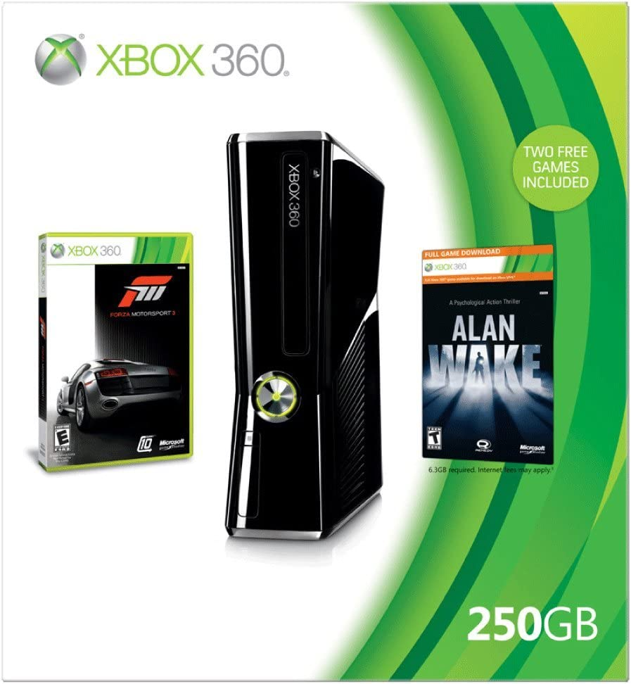 Amazon com: Xbox 360 250GB Holiday Bundle: Video Games