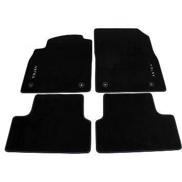 Accesorios Originales Opel, Juego de Alfombras de velour color negro para modelos Astra J >