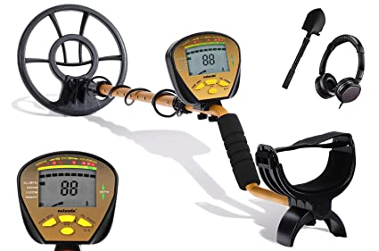 Amazon.com: Nalanda 18 kHz Metal Detector with 5 Detection ...