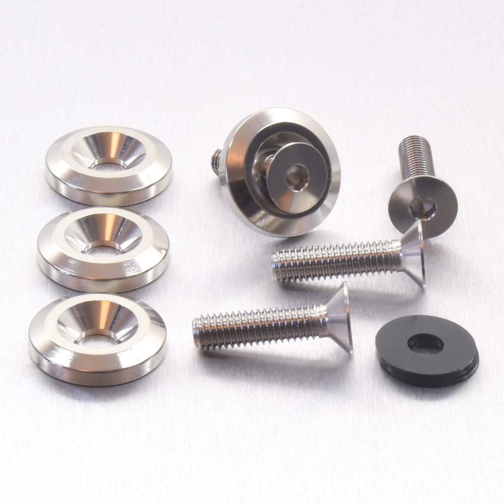 St. Steel C/S Bolts M6 x 25mm & C/S Washers (22mm o/d) Set x 4