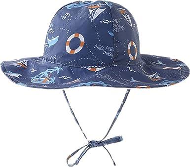 Boys boat sun hats 0-12months
