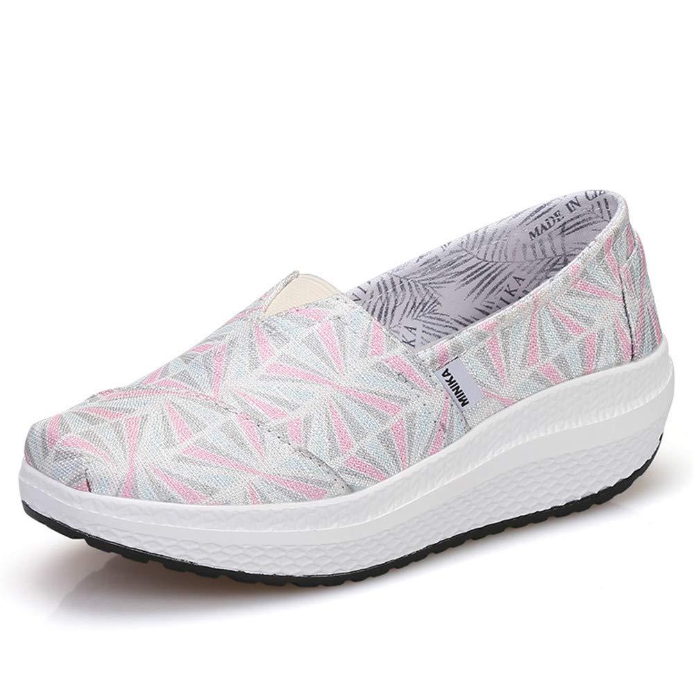 FangYOU1314 Chaussures à Bascule Respirantes usure et résistantes à Taille EU) l usure (Couleur : Rose, Taille : 36 2/3 EU) Rose 82dded4 - boatplans.space