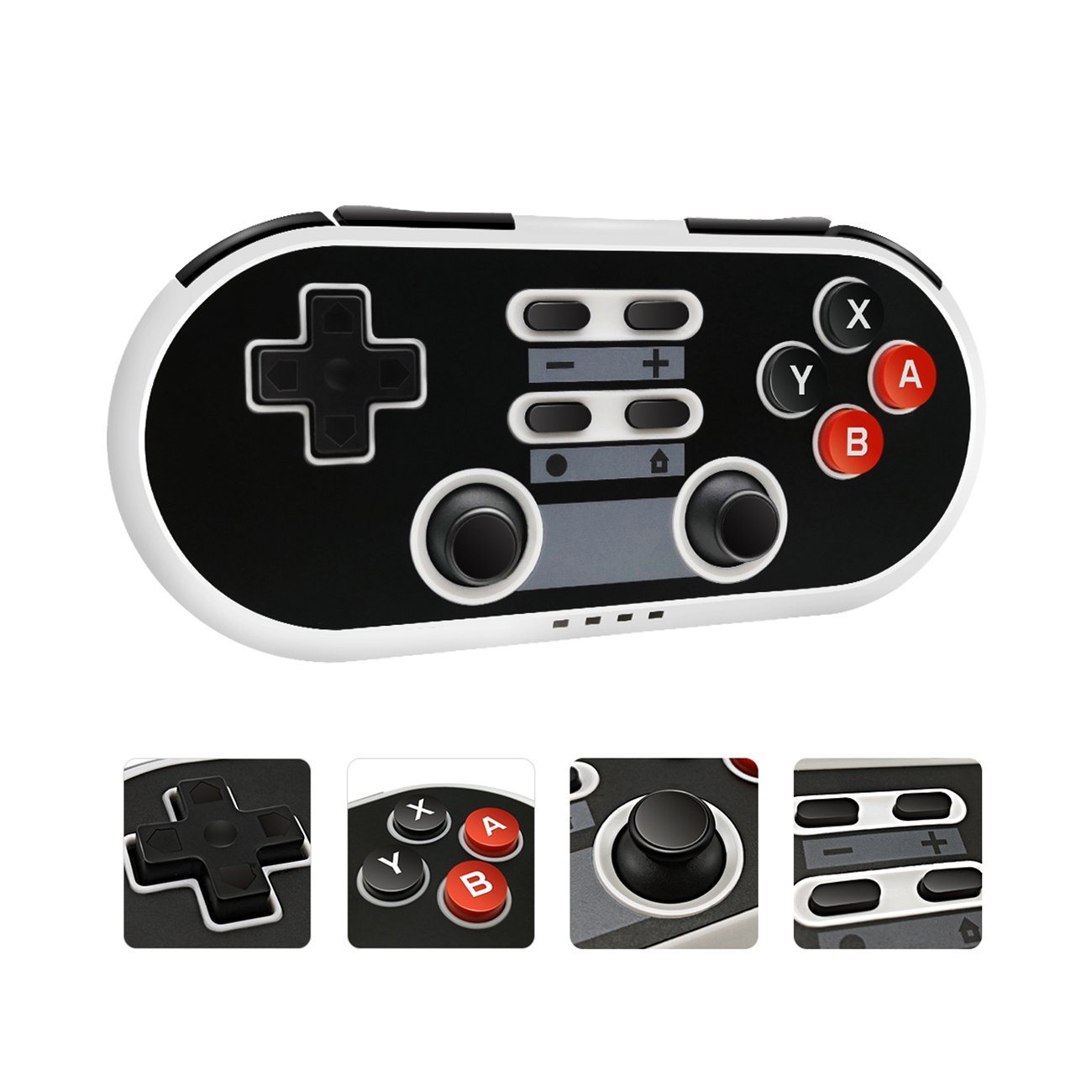 Switch Controller for Nintendo Switch RRISCI [Classical Edition] Double Vibration Motors 6-Axis Gamepad Joystick Support PC/Android/PS3
