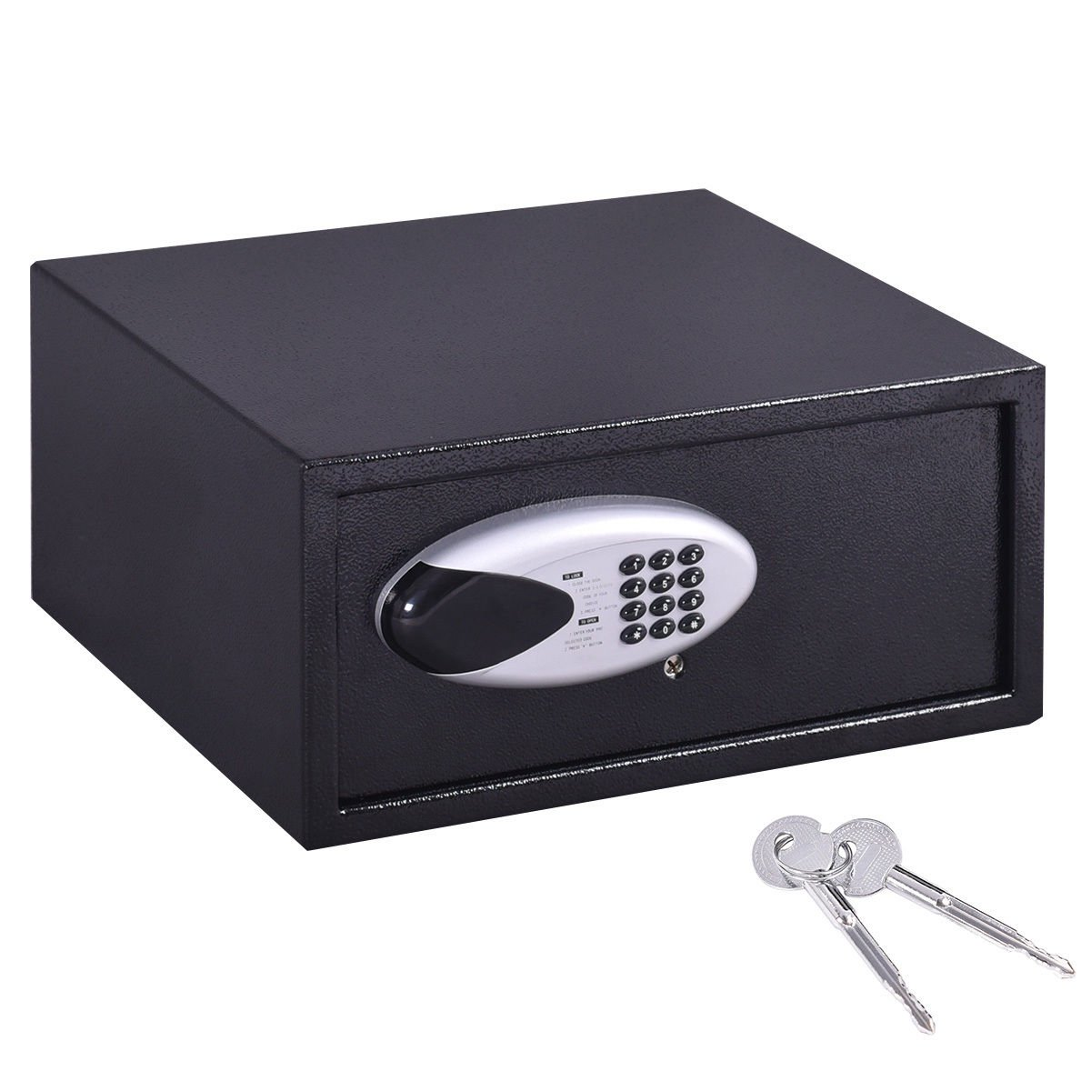 Safstar Electronic Digital Security Lock Box Wall Cabinet Safe for Jewelry Cash Valuable Home Office Hotel (16.9'' x 14.4'' x 7.8'') by S AFSTAR