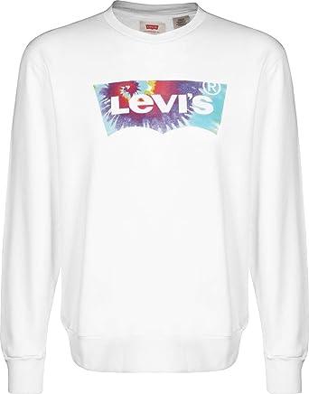 Camiseta Levis Graphic Crew Blanca Hombre XL Blanco: Amazon.es ...