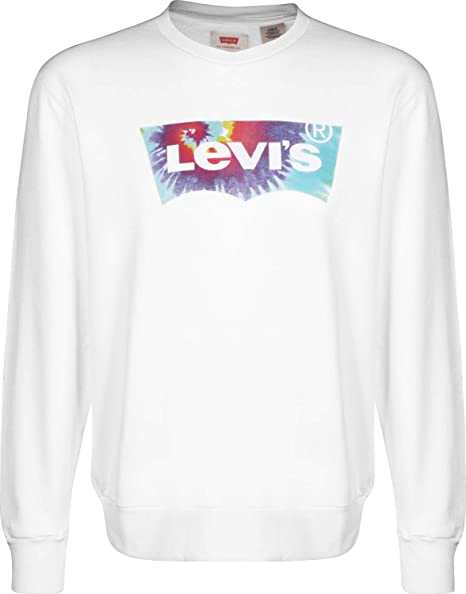 Camiseta Levis Graphic Crew Blanca Hombre XL Blanco: Amazon.es: Ropa y accesorios