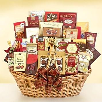 Gourmet Grandeur Premium Christmas Gift Basket - XL by Organic ...