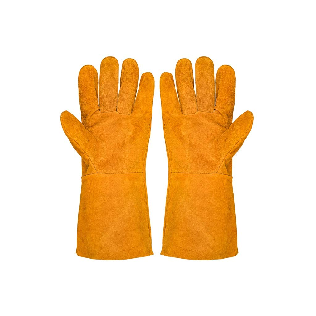 YYTLST Electric Welding Gloves, Wear-Resistant Anti-Slip Insulation, Soft and Breathable Single-Layer Thin Section, Flexible Use, 12 Pairs by YYTLST