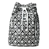 Dolce & Gabbana Multi-Color Printed Women's Drawstring Backpack Bag