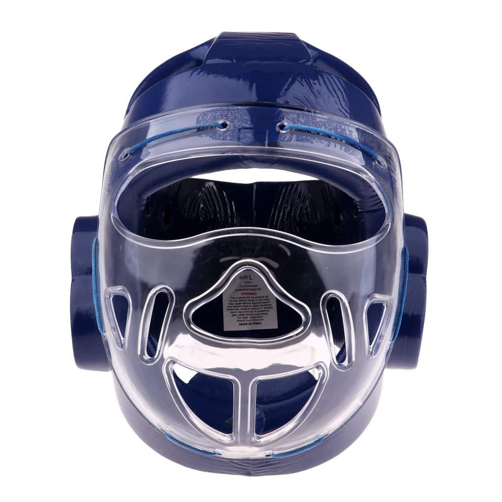 SM SunniMix Professional Headgear Kickboxing Helmet Karate Muay Thai Training Boxing Headgear Protector Training Gear