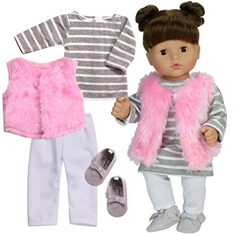 Sophias 4 Pc. Doll Clothes of 15