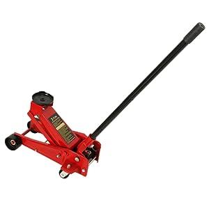 MultiWare Cric Hydraulique Roulant Rouleur 3 Tonnes