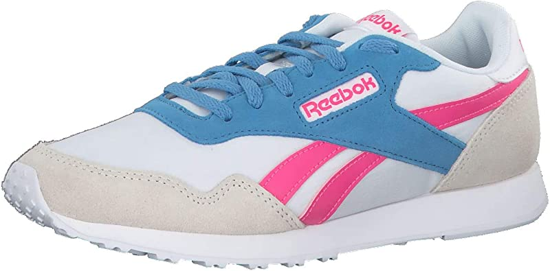 Reebok Royal Ultra, Zapatillas de Trail Running para Hombre, Multicolor (White/Solar Pink/C.Blue 000), 38.5 EU: Amazon.es: Zapatos y complementos