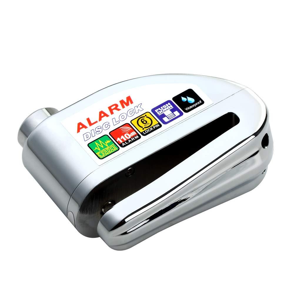 Amazon.com: Bibowa - Candado de freno de disco con alarma ...
