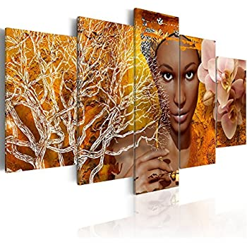 Amazon.com: Faicai Art African American Woman Art Black ...