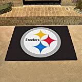 PITSBURGH STEELERS NFL ALL-STAR FLOOR MAT (34X45) SIZE ONE