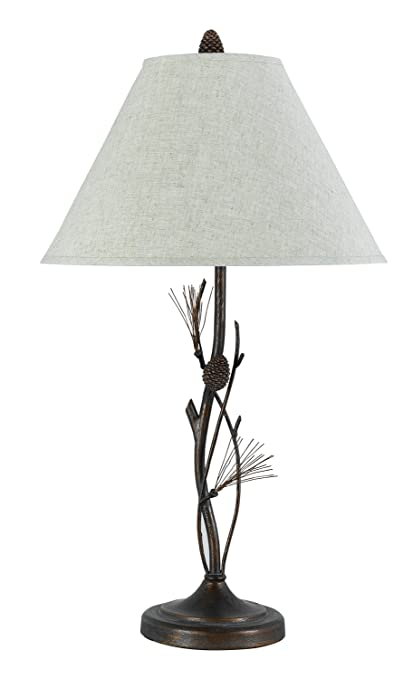Lamps And Lighting >> Cal Lighting Bo 961tb Pine Twig Table Lamp Fixture Willow 12 X 12 X 20 3