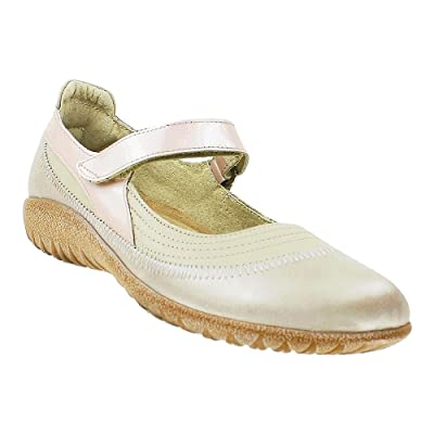 NAOT Kirei Linen Leather/Stardust Leather/Champagne Leather 42 (US Women's 11) | Oxfords