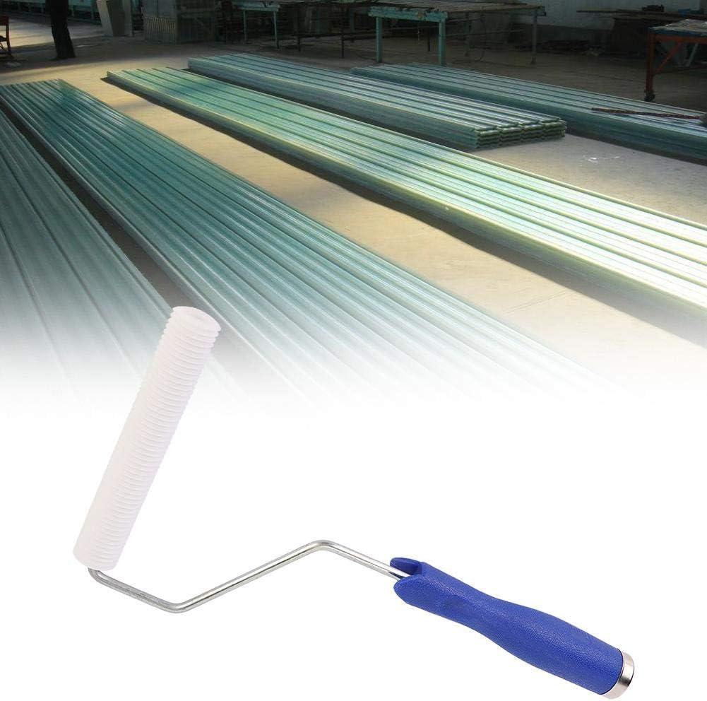 Wifehelper Diametro 25x150mm Strumento per la laminazione a Bolle della Bolla del Rullo di laminazione della Bolla della vetroresina per Produzione di FRP
