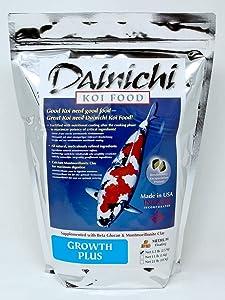 Dainich Koi Food, Growth Plus, Medium Floating (5.5 mm), 5.5 lb