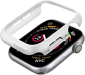 Spigen Thin Fit Designed for Apple Watch Case for 44mm Series 6/SE/5/4 - White
