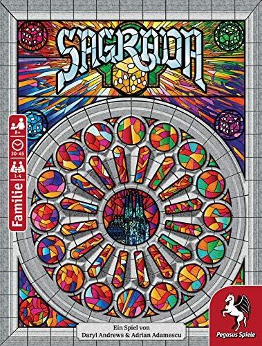 Pegasus Spiele 51120G - Sagrada (Deutsche)