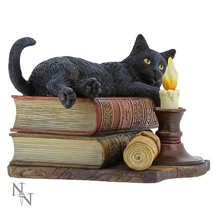 NEW BRUSH WITH MAGICK LISA PARKER BLACK CAT FIGURINE STATUE NEMESIS GIFT FIGURE