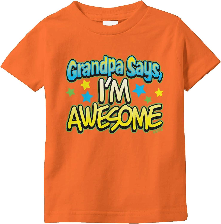 Amdesco Grandma Says Im Awesome Infant T-Shirt