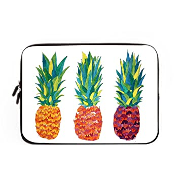 check out 76b11 f22c7 Buteri Pineapple Neoprene Protective Laptop Sleeve 13 Inch Macbook Air Case  Macbook Pro Sleeve and 13 Inch Laptop Bag Cover
