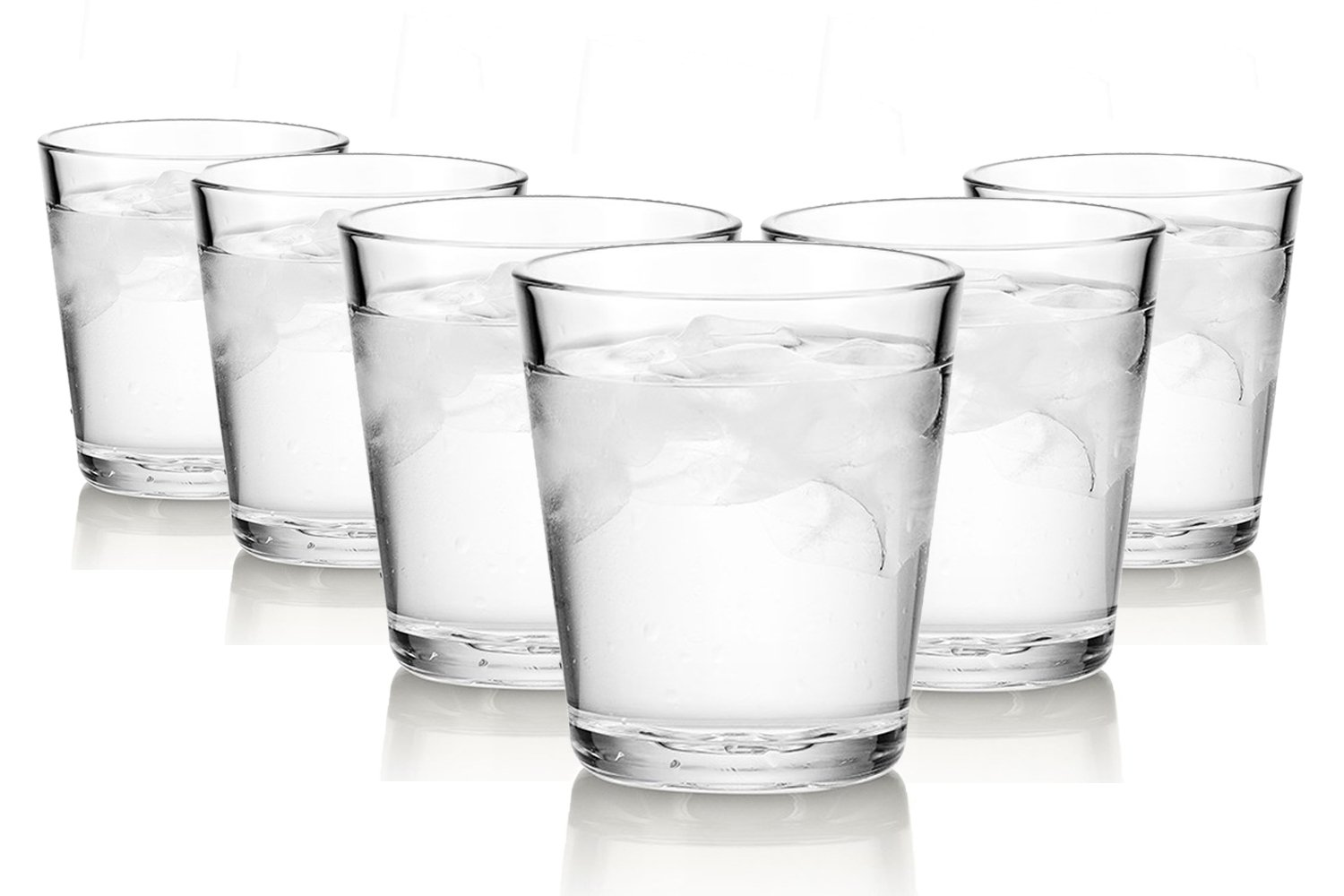 Arc Basic Waterglasses/250 ml/Set of 6/High-quality Glasses/Dishwasher safe/Crystal Glasses