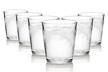 ARC Basic vasos de agua/250 ml/conjunto de 6/gafas de alta calidad/Lavavajillas/vasos de cristal: Amazon.es: Hogar