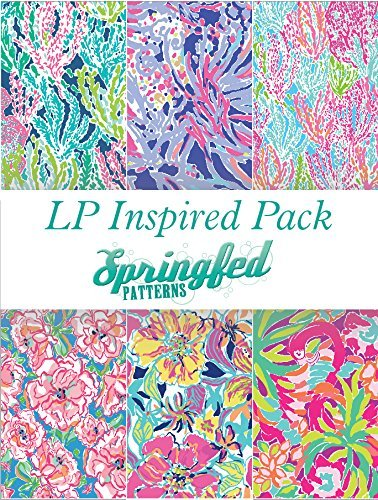 LP Inspired Craft Vinyl Pattern Pack #1 Six Patterns 12x12! Springfed Printing 4336981015