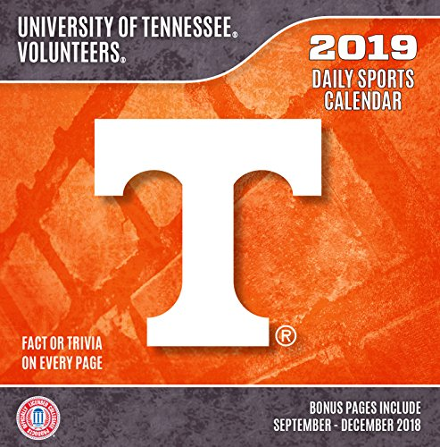 (Turner 1 Sport Tennessee Volunteers 2019 Box Calendar Desk Calendar (19998051383))
