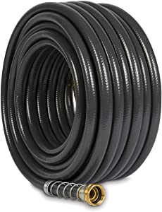 Gilmour 861751-1001 Flexogen Super Duty Garden Hose (1/2 x 75'), 75 Feet, Grey