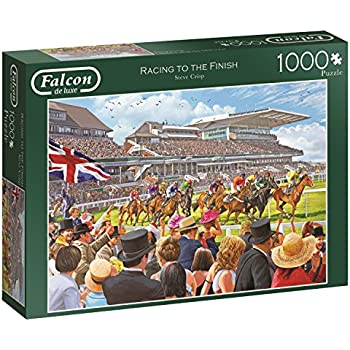 Amazon com: Horse Racing Puzzle: Toys & Games