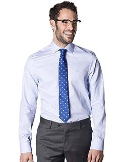 Etiem Camisa Vestir Slim Fit 1609/6200 Azul