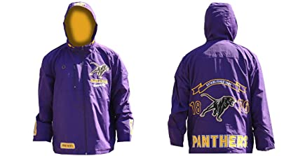 a43a9940a Amazon.com   Big Boy Gear Prairie View A M Panthers - Purple Hooded ...