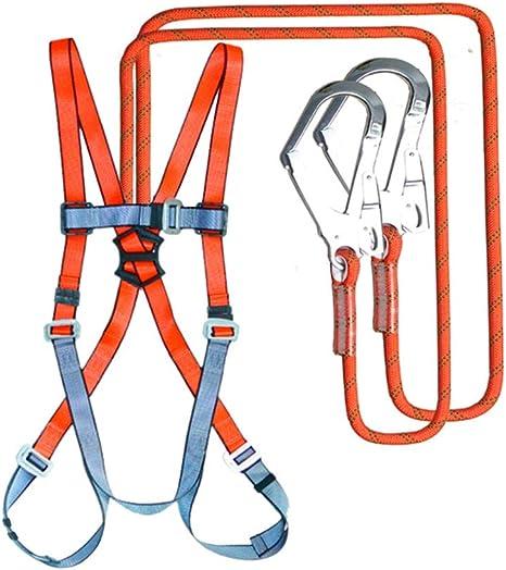 BAI-Fine - Juego de Cuerdas de Seguridad de 1,2 m, arnés de Cuerpo ...