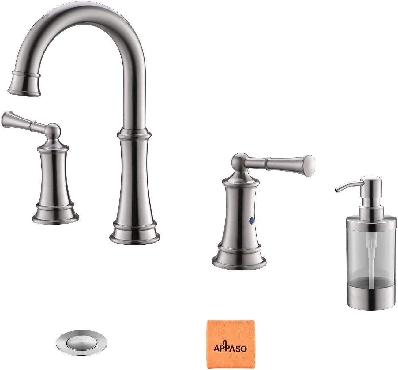 APPASO Widespread Sink Faucet