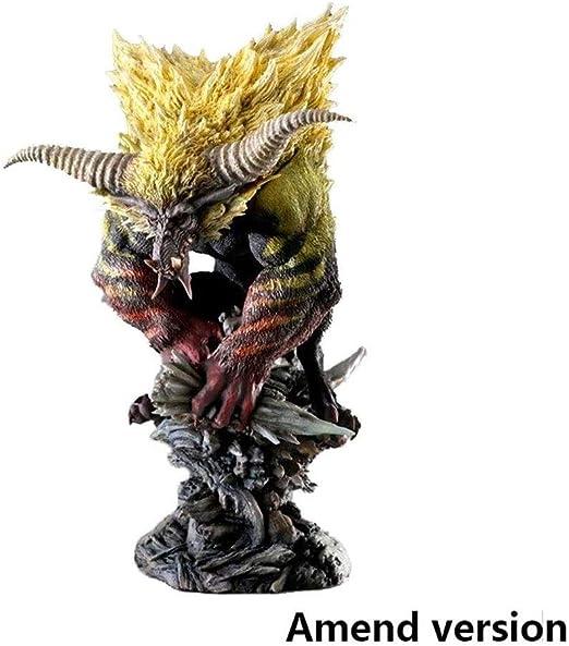 Amazon Com Bayueshop Game Character Model Anime Sculpture Monster Hunter World Rajang Pvc Figure High 9 05 Inche Anime Model Home Kitchen