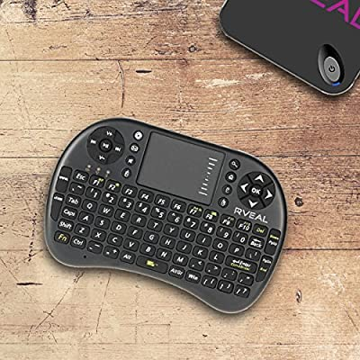Rveal Mini Touchpad Remote & Keyboard
