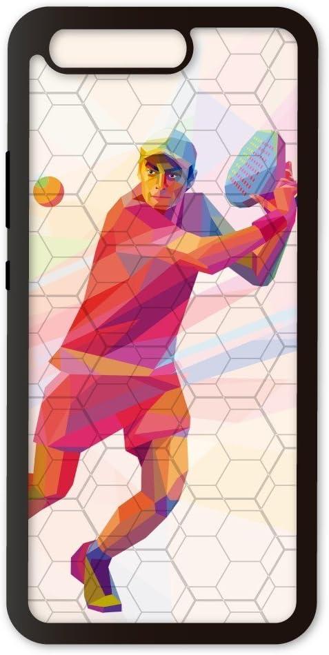 PHONECASES3D Funda móvil Compatible con Huawei P10 Padel Volea. Carcasa de TPUde Alta protección. Funda Antideslizante, Anti choques y caídas.