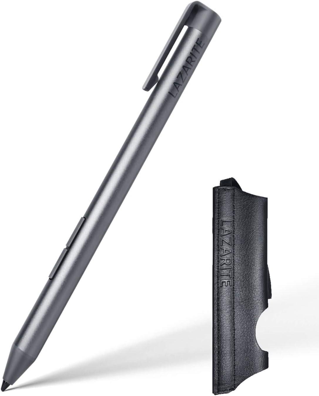 LAZARITE Active Stylus Pen for Lenovo Flex 5/14, Miix 510/520/720, Yoga 7/9/520/720/730/920/C740/C930, Digital Pen with 4096 Pressure Sensitivity, Palm Rejection, AAAA Battery, Super Long-Lasting