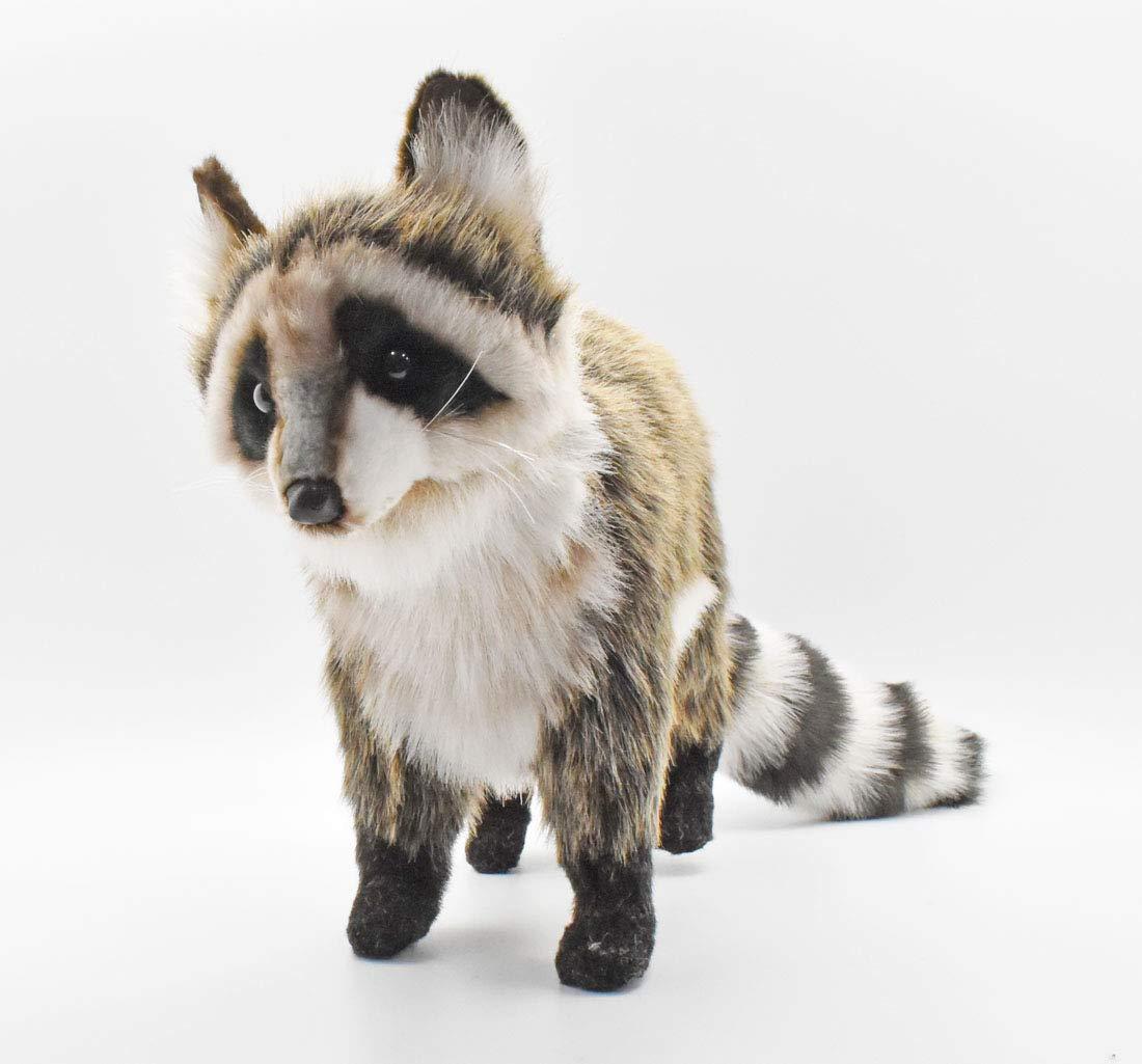 HANSA Standing Raccoon Plush by HANSA