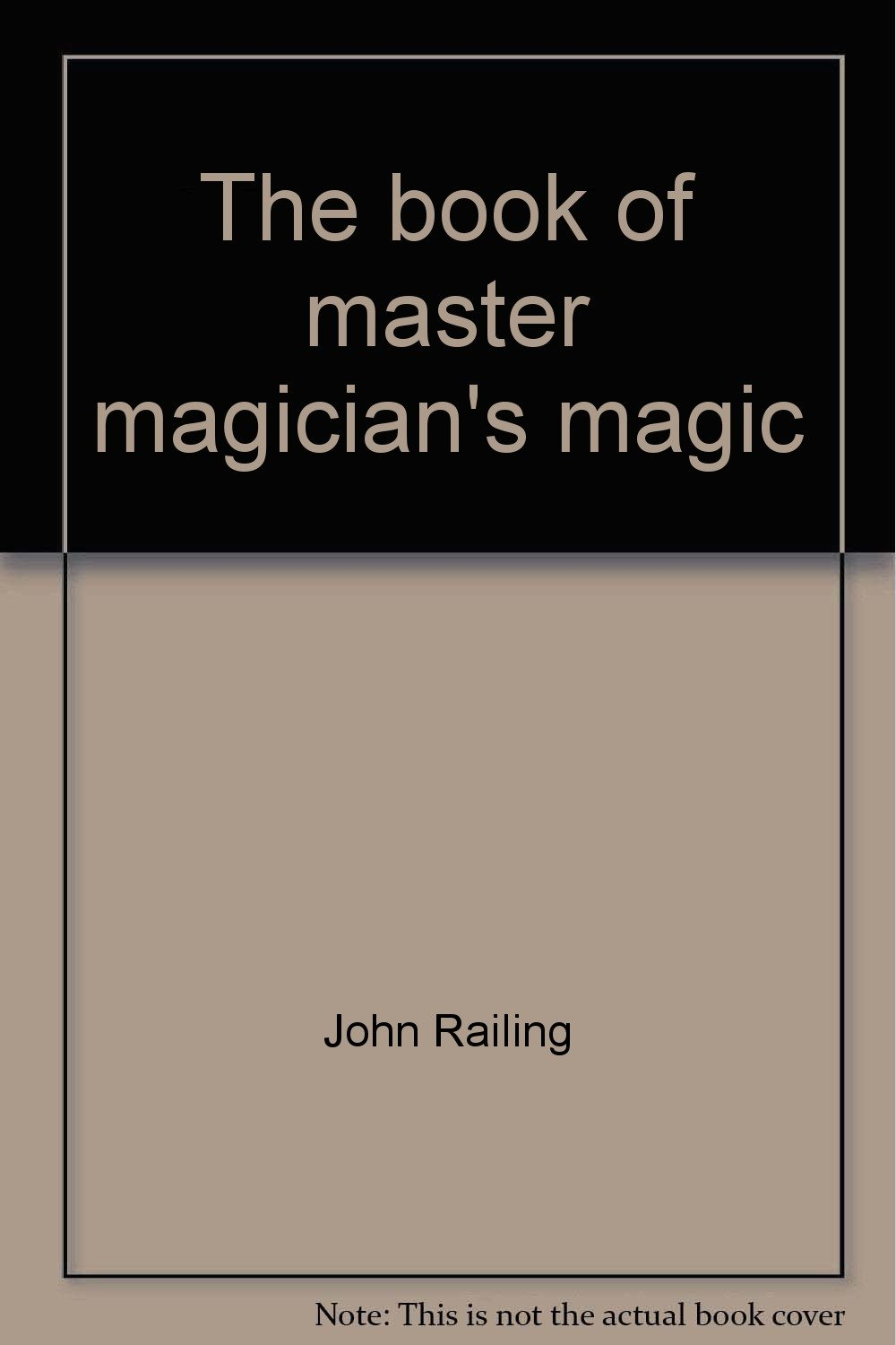 The book of master magician's magic pdf epub