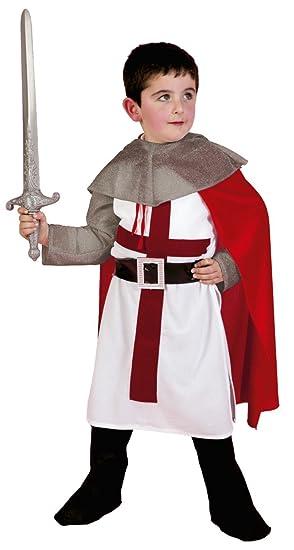 Disfraz de caballero medieval infantil - Talla - 5-6 años ...