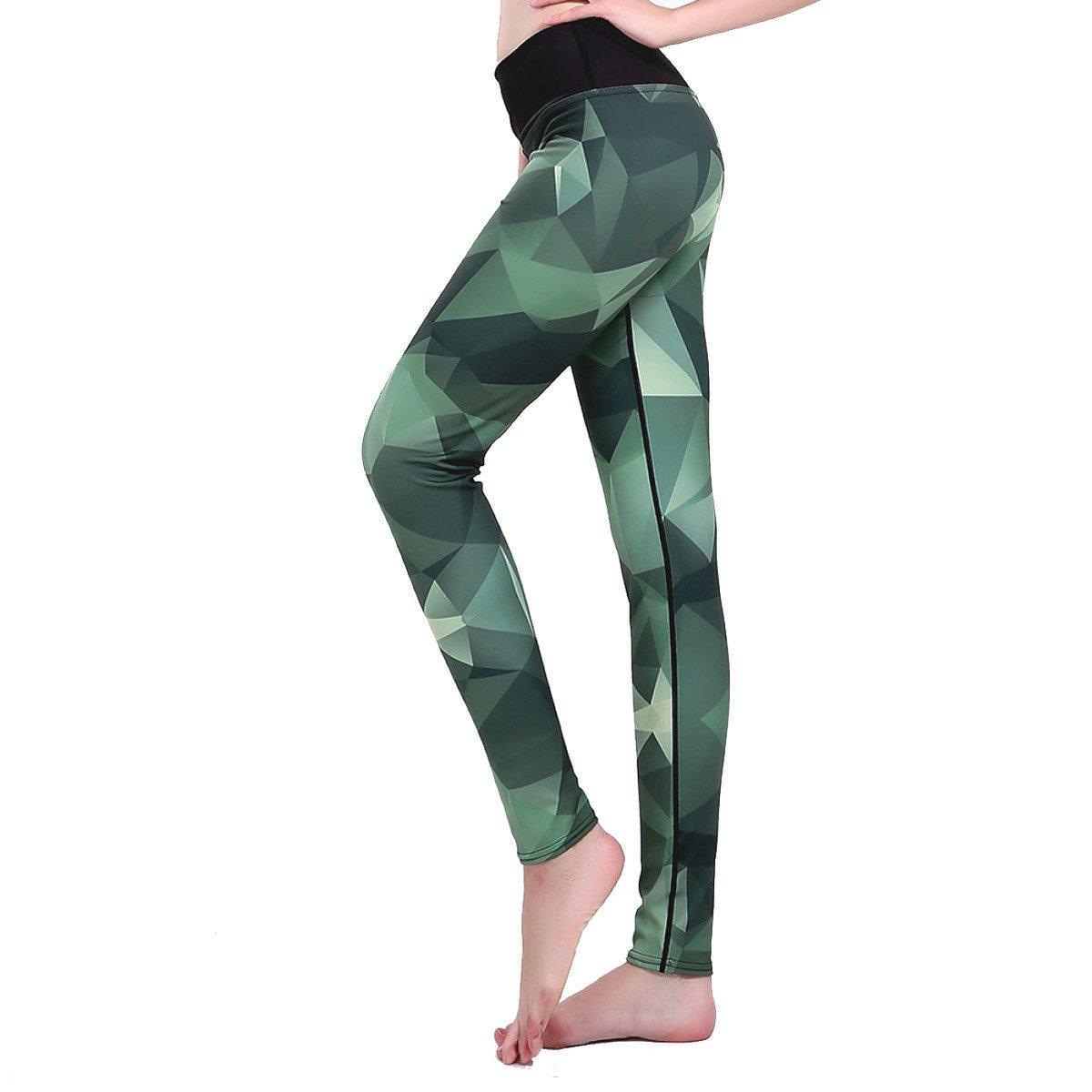 XNRHH Pantalones De Yoga con Estampado Cuadrado para Mujeres ...