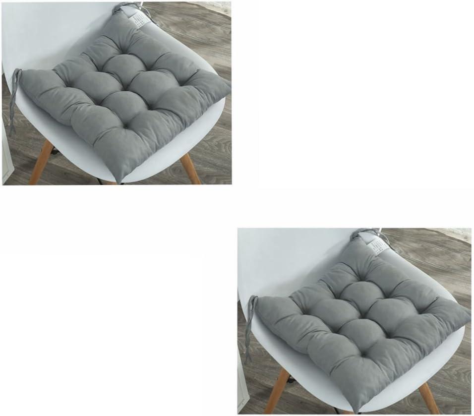 Pack de 2 cojines acolchados para asiento de silla con lazos ...