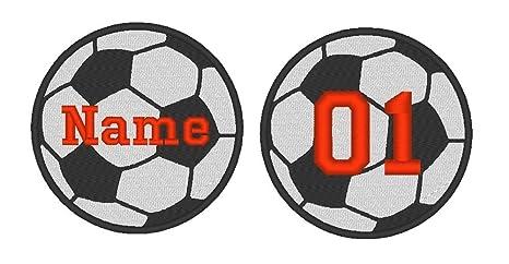 Con bordado personalizado de balón de fútbol deporte equipo para ...