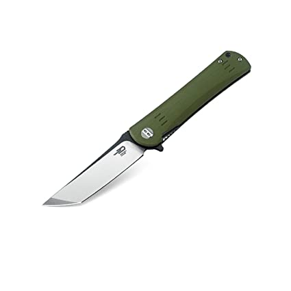 Amazon.com: Bestech cuchillo bg06b carpeta 3,75 en Plain ...